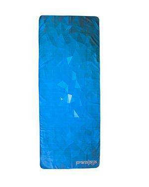 Yogatuch blau