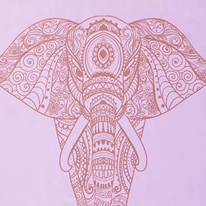 Yogatuch rosa Elefant