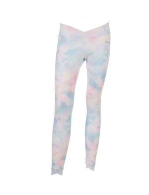Yoga Leggings Wolkenmotiv
