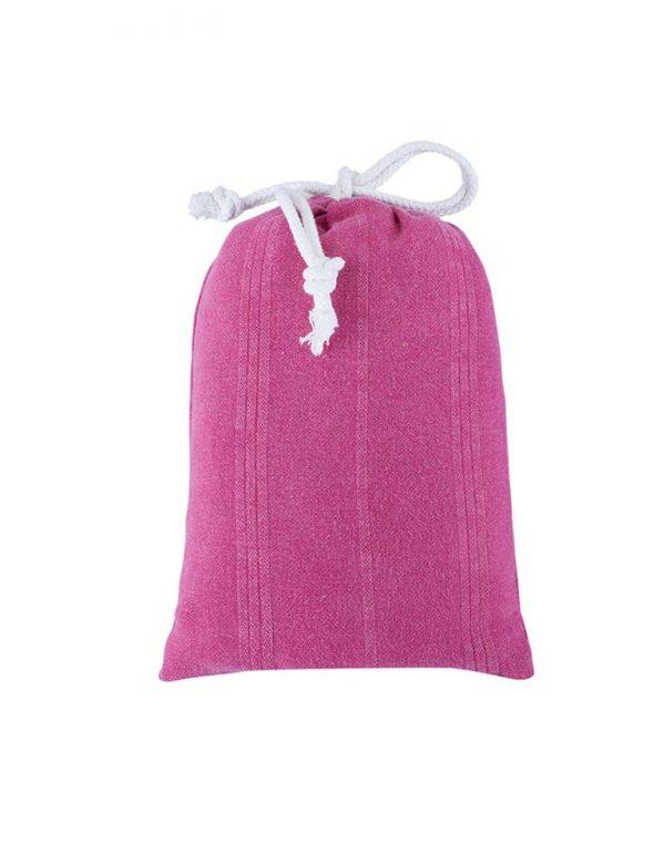 Peshtemal Poncho pink