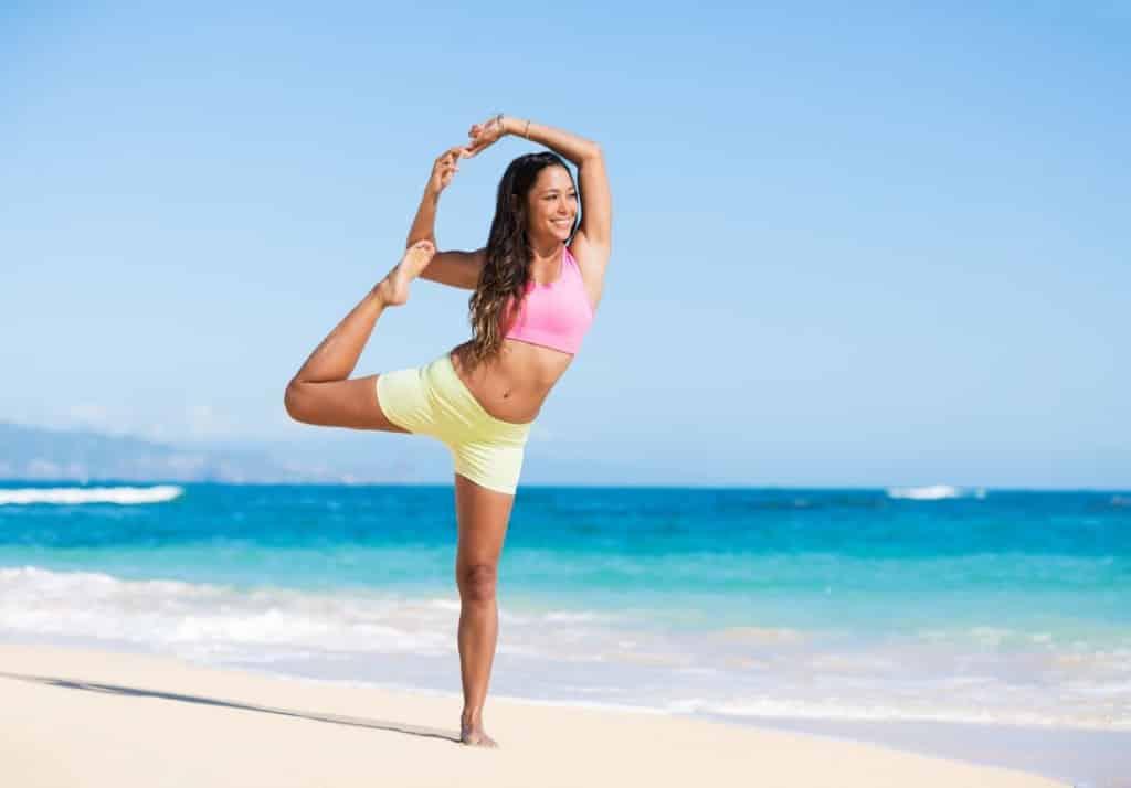 Hatha Yoga hilft beim Abnehmen